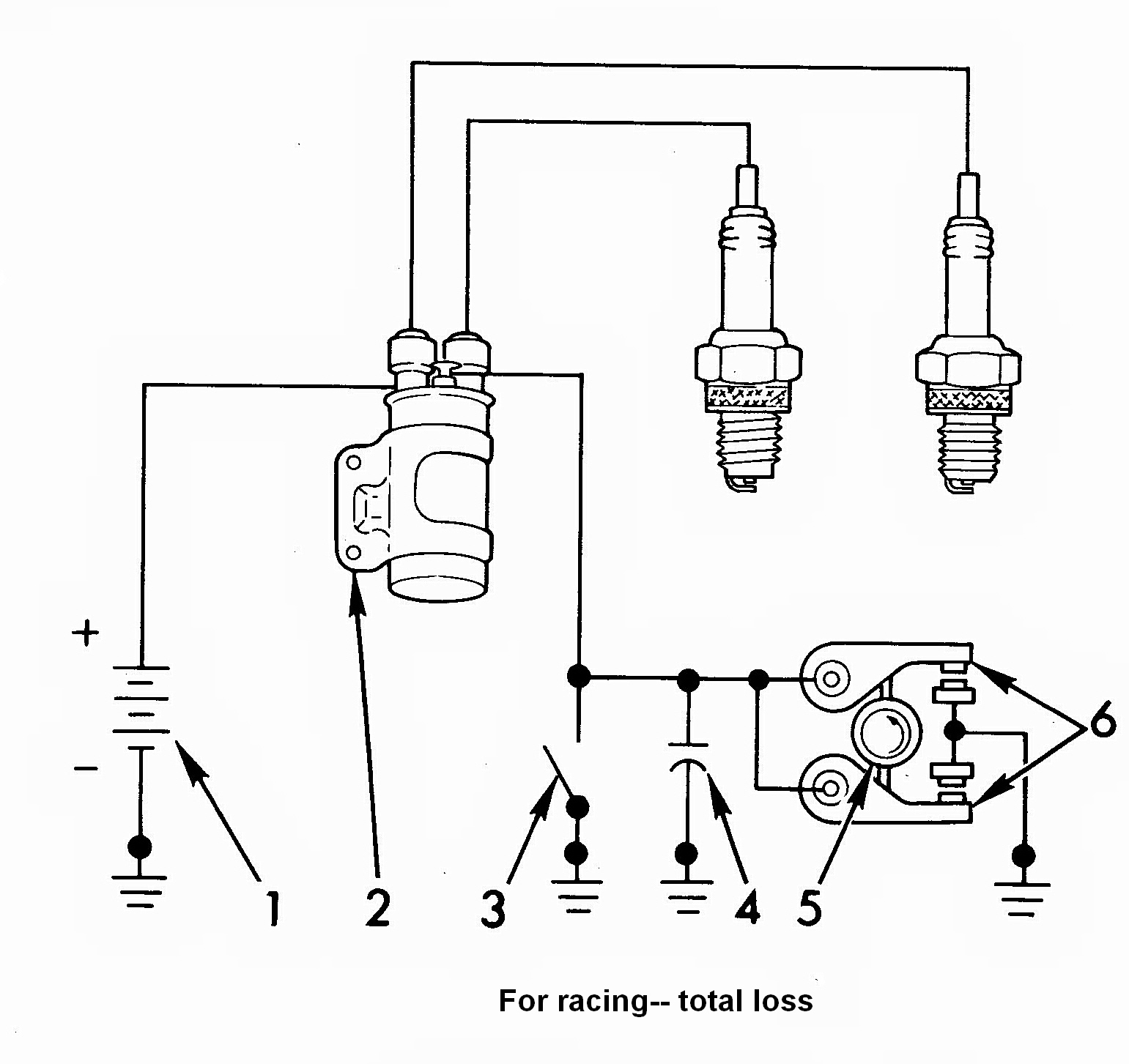 Coil Wiring Diagram : Ignition